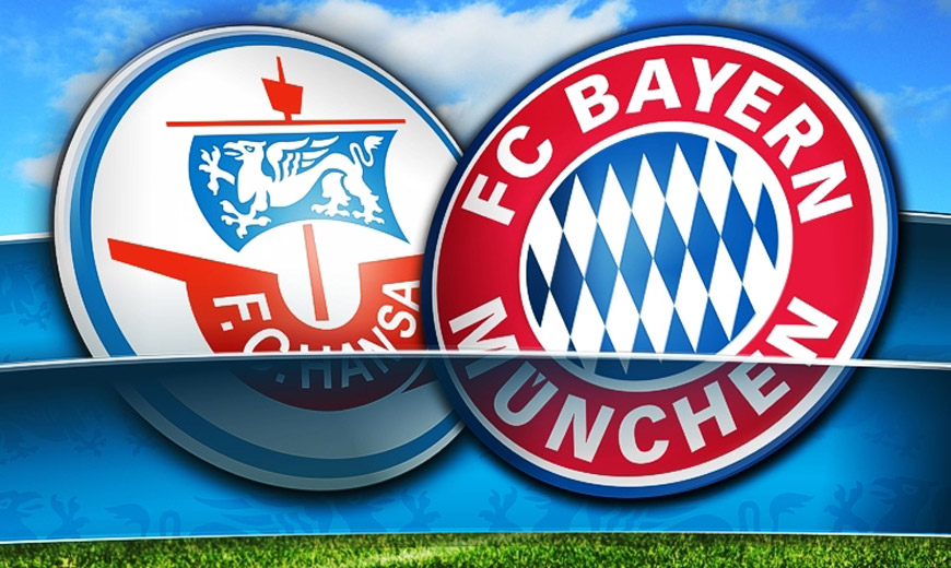 Hansa - Bayern: Auf dem Kreuzzug zum Glück